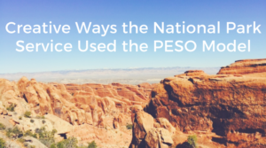 Creative Ways the National Park Service Used the PESO Model