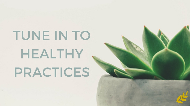 Tune Into Healthy Practices